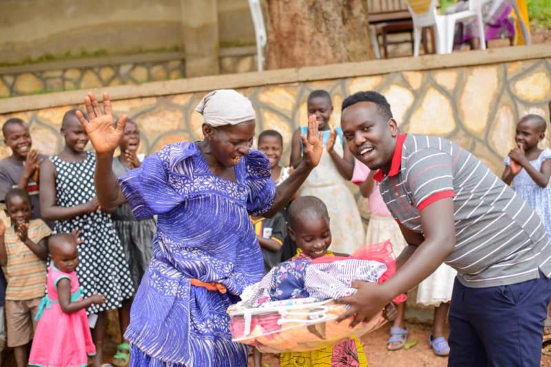 Die Freude ist groß bei den Familien